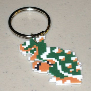 Classic Bowser Super Mario Bros 8 bit by TheMagesEmporium on Etsy