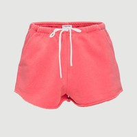 FRAME | Terry Track Short - Faded Summer Red