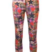 Vivienne Westwood Anglomania Plaid Basic Trouser