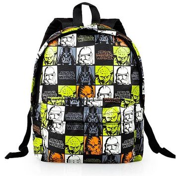 Small bags Children Star Wars School Bag Baby Kindergarten Bags 2016 Boy Cartoon Satchel School Little Kids Girl Backpack