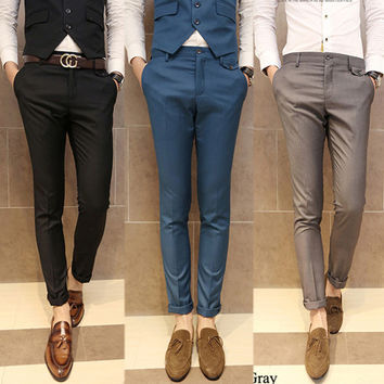 Dress pants for men slim fit slim fit modern men style dress pants