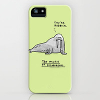 The Seal of Approval and Friends iPhone & iPod Case by Gemma Correll