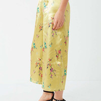 UO Clarissa Silky Culotte Pant | Urban Outfitters