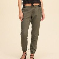 Hollister Low Rise Twill Joggers
