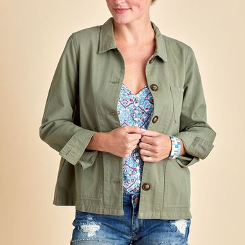 Mod Ref The Chase Button Front Jacket