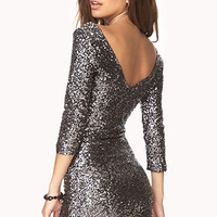 Dancing Queen Sequined Dress