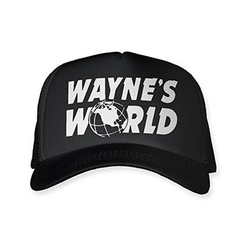 Wayne's World Trucker Hat Mesh Halloween Costume Cheap Funny SNL