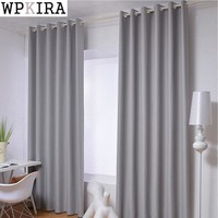 Grey/Pink/Green/Blue Home Curtain Cloth Elegant Curtains Bedroom Living Room Blackout Fabric Hotel Window Curtains S117&20