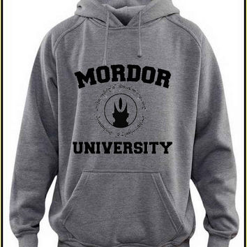 mordor university custom crewneck hoodie for unisex