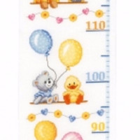 Baby Shower Cross Stitch Complete Kit by Vervaco