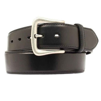 Nocona Western Belt Mens Leather Smooth Overlay 48 Black