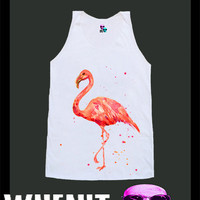worldwide shipping just 7 days Flamingo shirt singlet tank top 10341