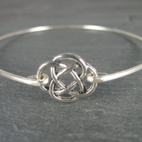 15% off until St. Patricks Day Coupon Code CELTIC15  Celtic Knot Bracelet, Bangle, Bracelet, St. Patricks Day