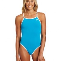 Speedo Women's Solid Reversible Extreme Back Endurance Swimsuit