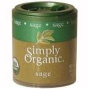 Simply Organic Mini Sage Ground (6x.21 Oz)