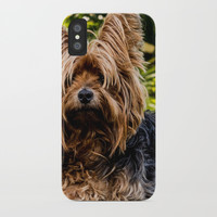 Yorkshire Terrier iPhone Case by Knm Designs