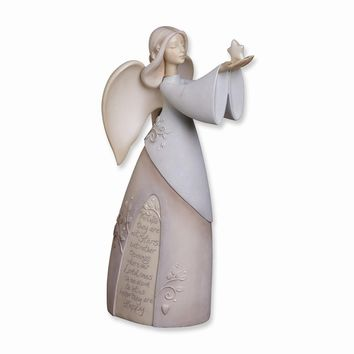 Foundations Bereavement Angel Figurine - Perfect Religious Gift