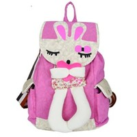 Cute 3D Bunny Backpack For Girls