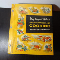 Vintage Mary Margaret McBride Encyclopedia of Cooking - Deluxe Illustrated Edition Cookbook