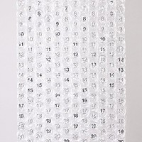 Bubble Calendar, a poster-sized calendar with a bubble to pop every day.