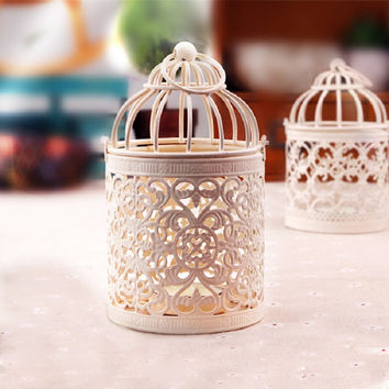 Home Decor Decoration Iron Metal Lights Candle Stand [4918505028]