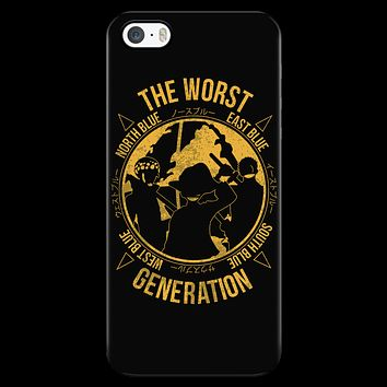 One Piece - The Worst Generation - Iphone Phone Case - TL01099PC