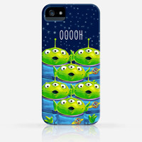 Toy Story Three Eyed Alien Disney iPhone 4 Case, iPhone 4s Case, iPhone 5 Case, iPhone 5s Case, iPhone Hard Plastic Case