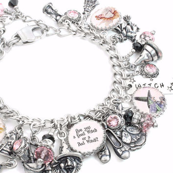 Are you a Good Witch or a Bad Witch, Charm Bracelet