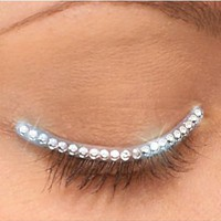 Silver Eyelid Jewel- Party City
