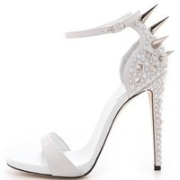 Giuseppe Zanotti Alien Crystal Spike Sandals | SHOPBOP