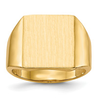 14k Men's Signet Ring RS636