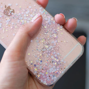Sakura - glitter case iphone 7 plus case iphone 7 case iphone 6s Plus case iphone 6s case iphone 6 Plus case samsung note8 case