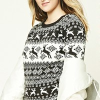 Plus Size Fair Isle Sweater