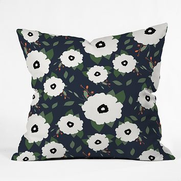 Allyson Johnson Floral Class Throw Pillow