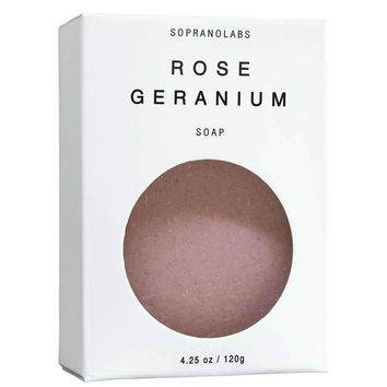Rose Geranium Vegan Soap