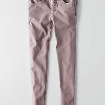 AEO Sateen X4 Jegging, Lavender