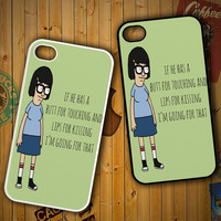 Tina Bob'S Burgers Quotes Z1391 LG G2 G3, Nexus 4 5, Xperia Z2, iPhone 4S 5S 5C 6 6 Plus, iPod 4 5 Case