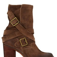 Jeffrey Campbell France Strapped Boot - Brown