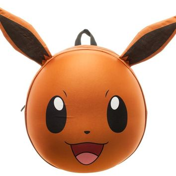 Pokemon Eevee 3D Molded Backpack 15 x 18in