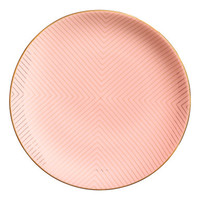 H&M Patterned Porcelain Plate $12.99