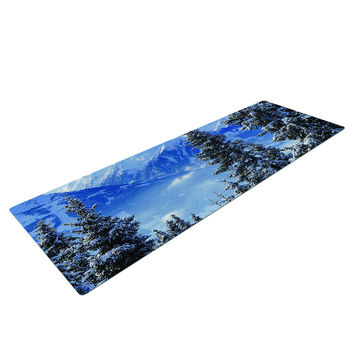 Winter Wonderland Yoga Mat
