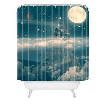 Belle13 The Way Home Shower Curtain