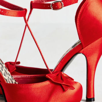 Frilled With Love Heel | Mod Retro Vintage Heels | ModCloth.com