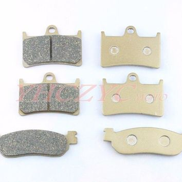For YAMAHA YZF R6 99-02 YZF R1 02-03 motorcycle front and rear brake pads set Motorcycle Parts