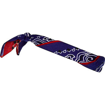 River Island MensRed and blue two tone bandana