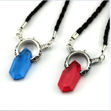 Women Cosplay Blue or Red Pendant DMC Game Devil by Leopardsold