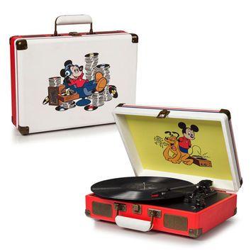 Crosley: Disney Mickey Mouse Cruiser Turntable (Record Store Day)
