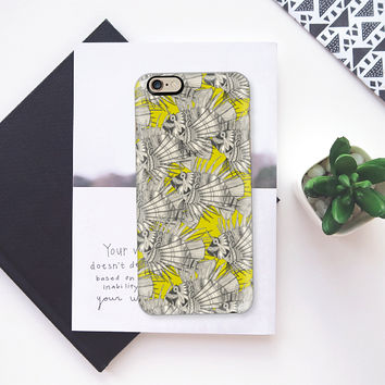 fish mirage chartreuse iPhone 6s case by Sharon Turner | Casetify