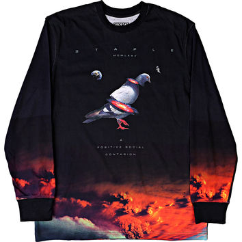 Staple Nuclear Pigeon Tee - Black