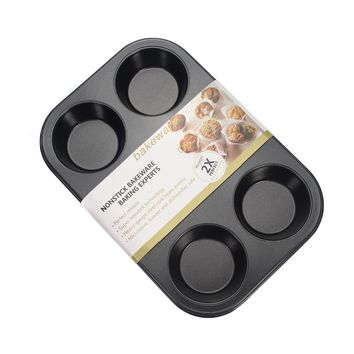 Nonstick 6-cup muffin pan, cake mould  cupcake mold baking tools